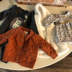 BABY GIRL NEWBORN BUNDLE. Couture baby!